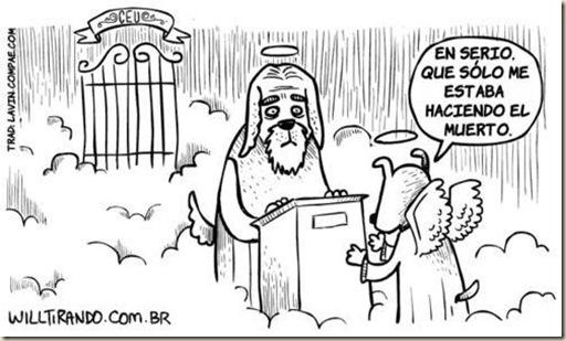 cielo paraiso humor ateismo biblia grafico religion dios jesus (4)