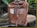 Tas travel dari kulit asli model sangat klasik