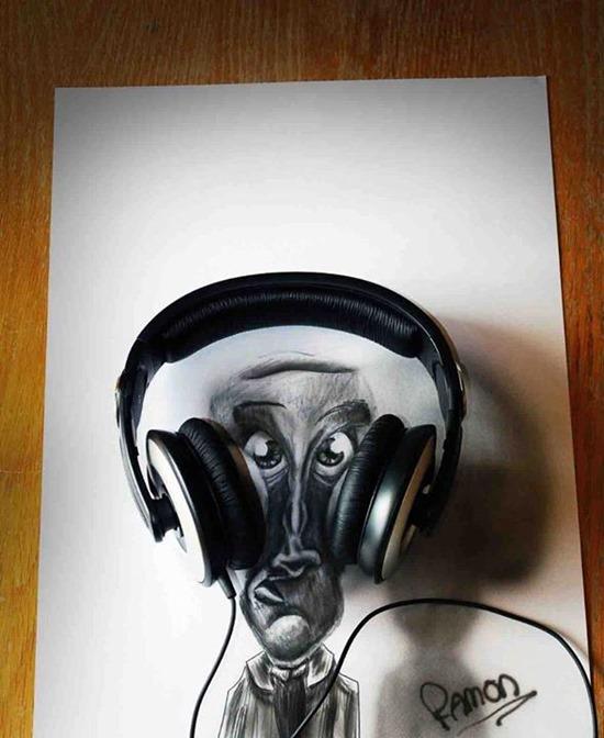 Desenhos 3D lápis (4)