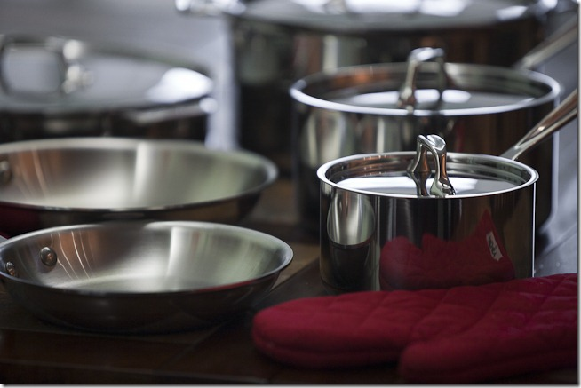 All-Clad Stainles Steel Pots and Pans-1
