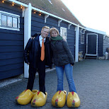 our new clogs in Zaandam, Noord Holland, Netherlands