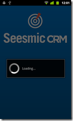 Seesmic takes some time to load after login