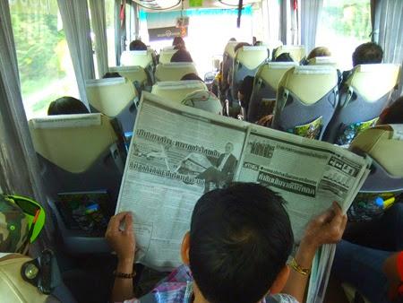 bus Chiang Mai-Chiang Khong