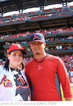 'Pitcher Kyle Lohse and I' photo (c) 2010, Jessica Sutton - license: http://creativecommons.org/licenses/by/2.0/