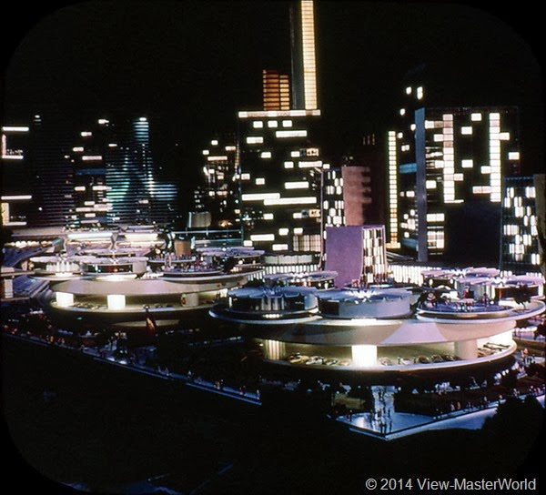 View-Master New York World's Fair 1964-1965 (A671),Scene 5: City of the Future in the G.M. Futurama
