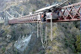 People Jumping Off Of A Perfectly Good Bridge - AJ Hackett Bungy, New Zealand