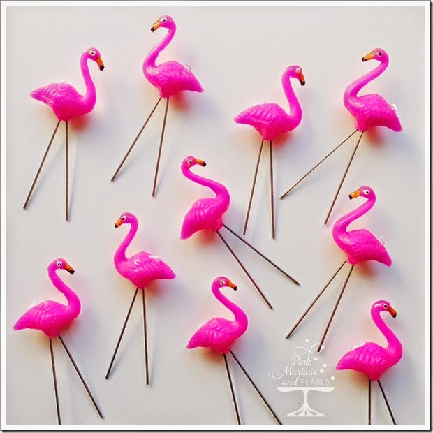 Flamingo Candles paper Source