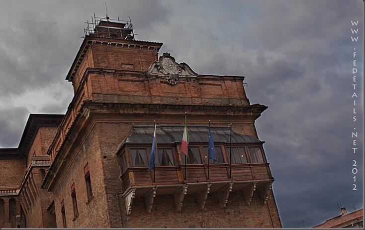 Castello Estense entrata nord 2, Ferrara, Emilia Romagna, Italia - Castello Estense north entrance 2, Ferrara, Emilia Romagna, Italy - Property and Copyrights of Fedetails.net