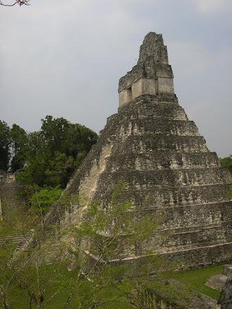 Tikal Guatemala: the temple
