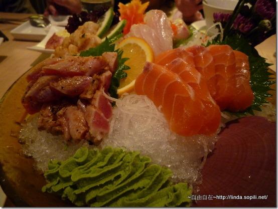 3份生魚片