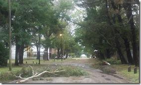El gobierno municipal desplegó un operativo de emergencia durante el alerta meteorológico