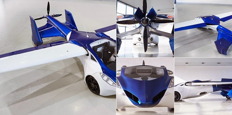 View AeroMobil Flying Car Concept (2014)
