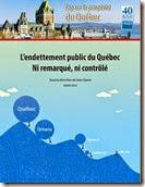 L'endettement public du Québec