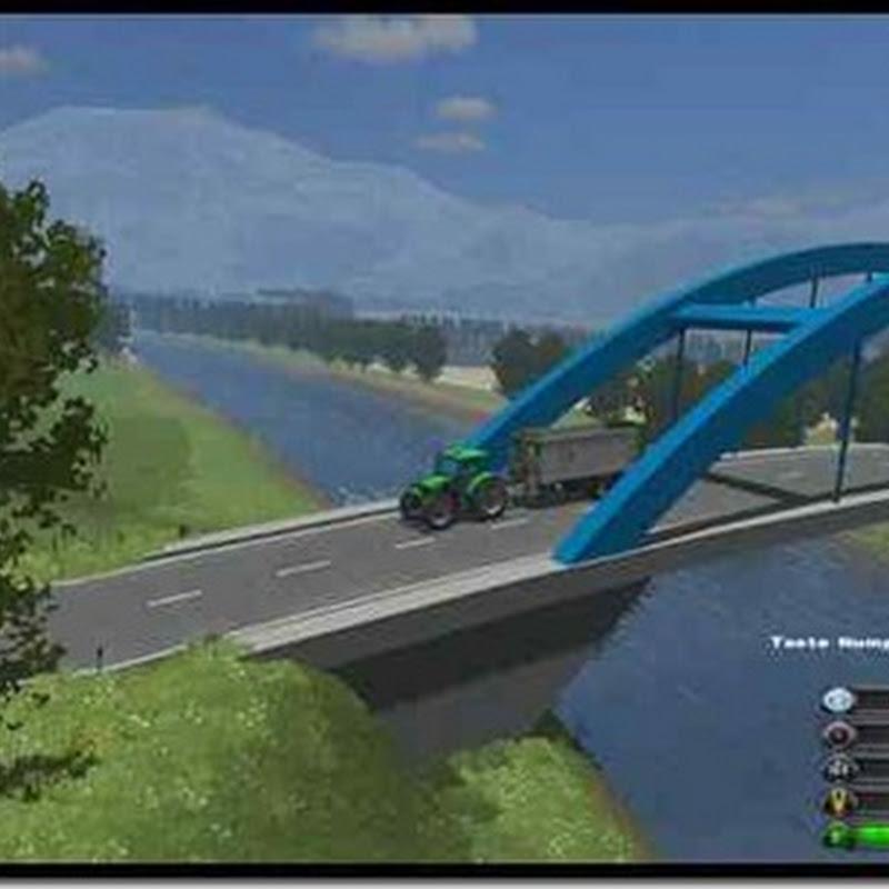 Farming simulator 2011 - Two Rivers (due fiumi mappa)
