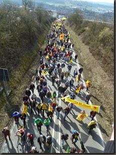 Fukushima 4. Jahrestag Demo Neckarwestheim Foto C. Schäflein