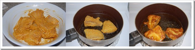 Fish fry process