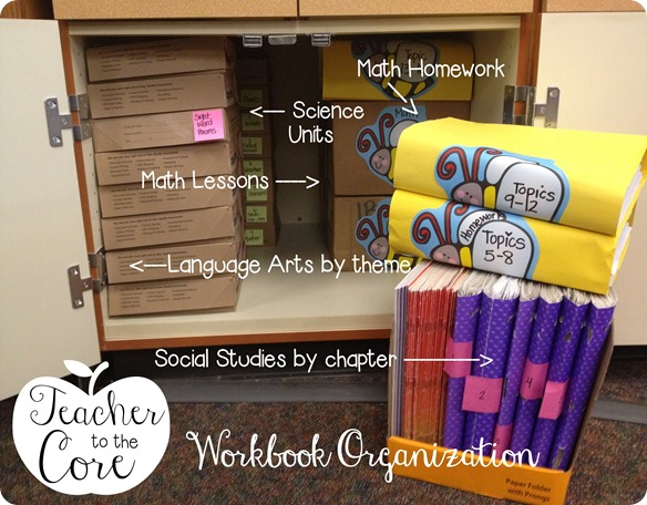 Organization tips from Teacher to the Core