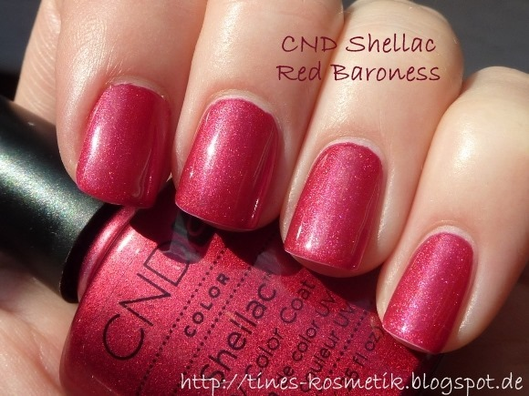 CND Shellac Red Baroness 3