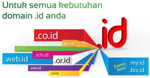 nama domain dot id yang bisa didaftarkan via registrar ---