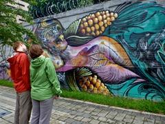 Medellin street art.