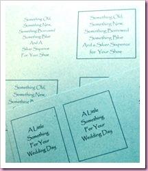 Wedding Matchbook