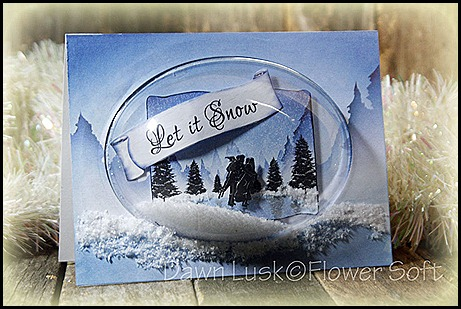 Flower Soft- Winter Wonderland Card Creators