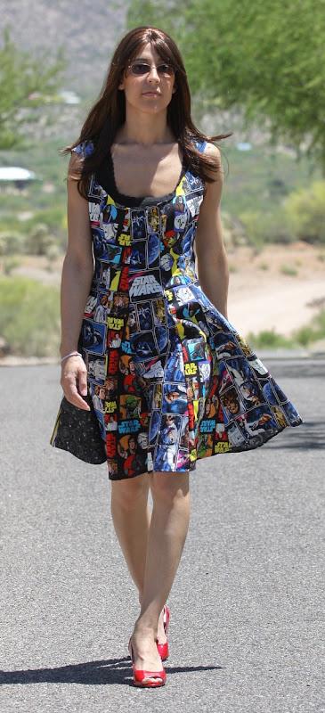 Star Wars Daywear Dress from restitchretro on Etsy