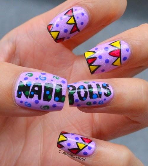 Nailpolis Challenge Nail Art