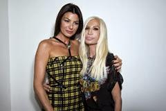 Ilaria d'Amico;Donatella Versace