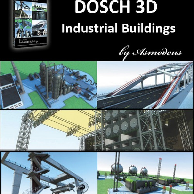 Industrial Buildings DOSCH 3D