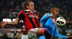 Hasil AC Milan vs Napoli