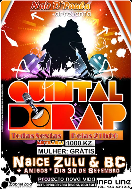 Quintal do Rap Vs Naice Zulu & BC [Dia 30 de Setembro][4]