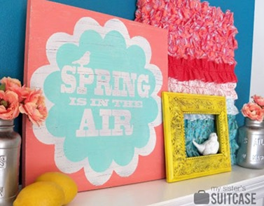 Super-Saturday-Craft-Idea-Spring-Antiqued-Plaque