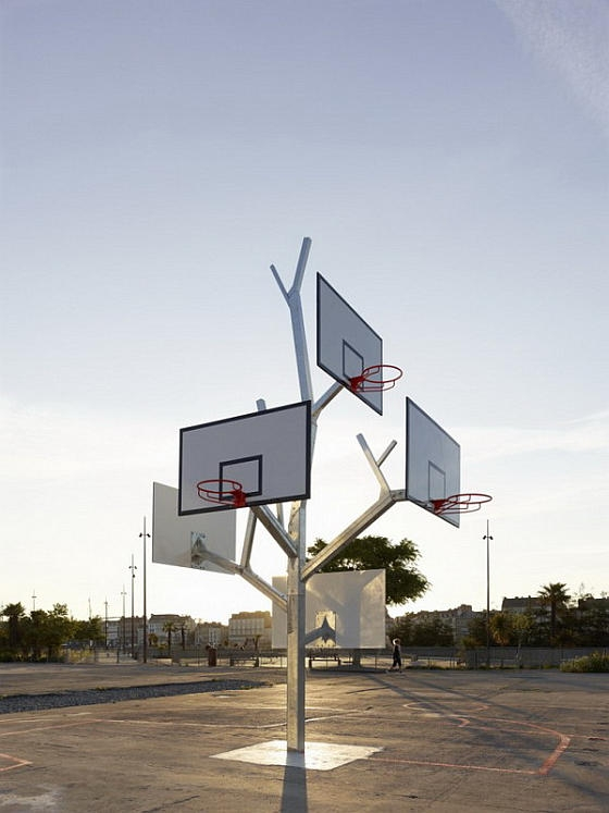 Баскетбольное дерево