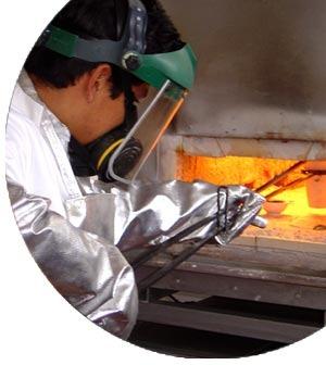 El gas natural en la metalurgia y fundición de metales