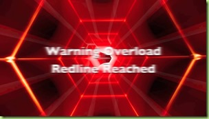 red line reached