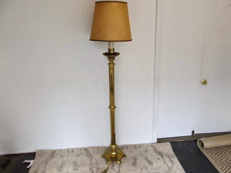 Brass Floor Lamp 2
