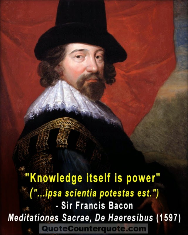 "QuoteCounterquote ""Knowledge Is Power"" And Everything Most Adorable Knowledge Is Power Quote"