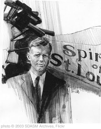 '04-00694 Charles Lindbergh' photo (c) 2003, SDASM Archives - license: http://www.flickr.com/commons/usage/