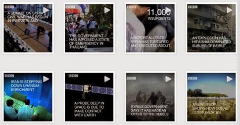 Noticias por Instagram - la nueva modalidad de la BBC