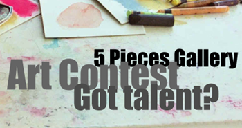 5 Pieces Gallery art contest