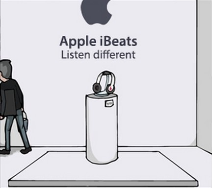Apple ibeats headphone