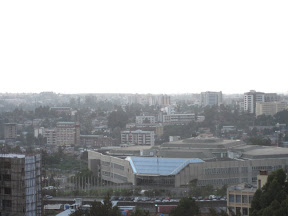 The UN Convention Center at Addis Ababa