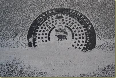 Hammerfest Manhole Cover