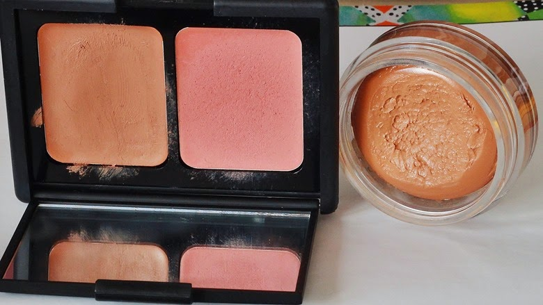 contouring 3 ways the light natural contour elf contouring blush and bronzing cream bourjois bronzing primer