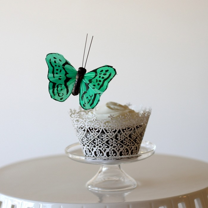 Spring Butterfly Cupcakes (3)