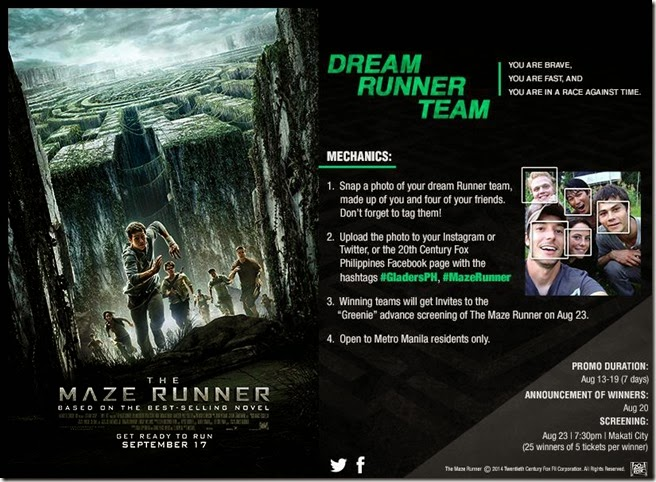 MazeRunner FansDay Screening