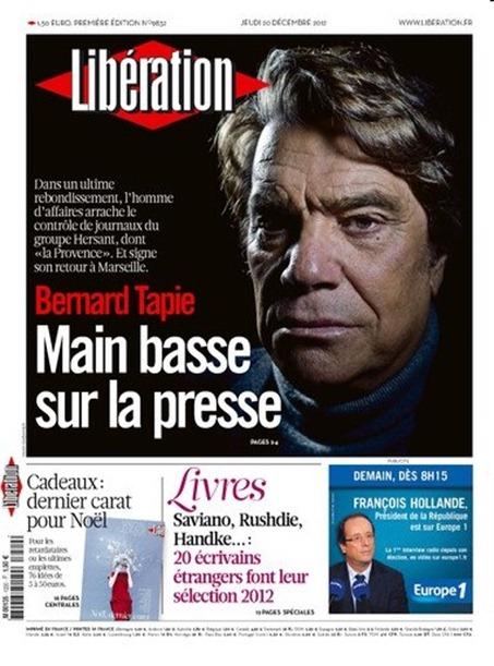 Portada de Libération
