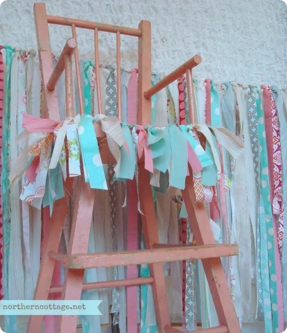 High Chair Banner Garland {NorthernCottage}
