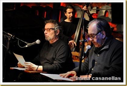 Pere Rovira i Joan Margarit amb Rai Ferrer, Barcelona 2013